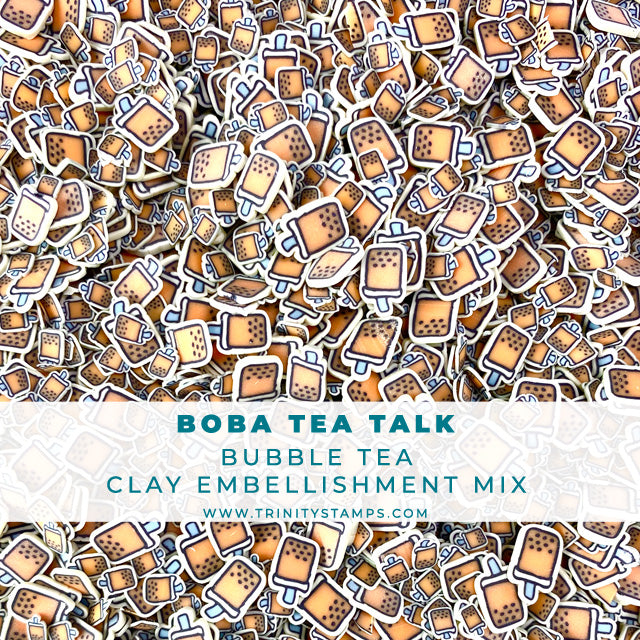 Boba Tea Talk- Clay Sprinkles Embellishment Mix