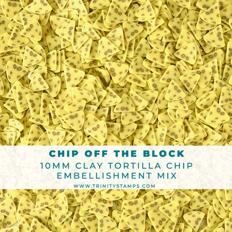 Chip Off The Block- Clay Sprinkles Embellishment Mix