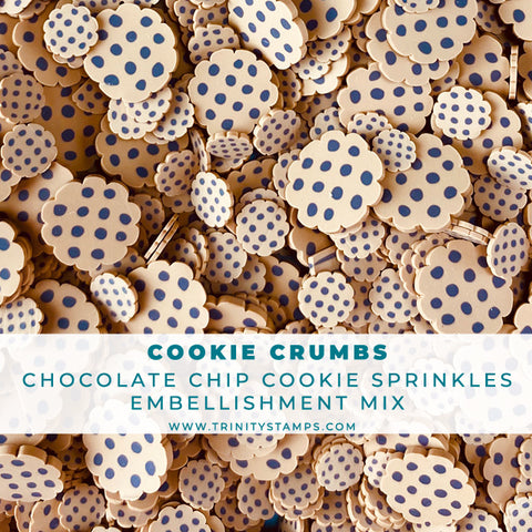 Cookie Crumbs- Clay Sprinkles Embellishment Mix