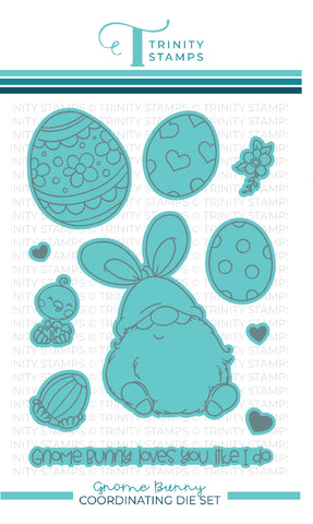 Gnome Bunny Coordinating Die Set