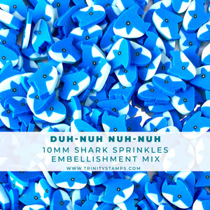 Duh-Nuh-Nuh-Nuh - Clay Embellishment Mix
