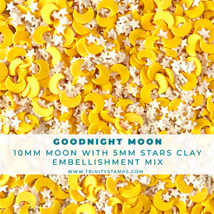 Goodnight Moon- Clay Sprinkles Embellishment Mix
