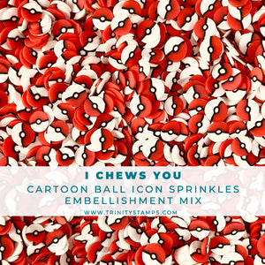 I Chews You- Clay Sprinkles Embellishment Mix