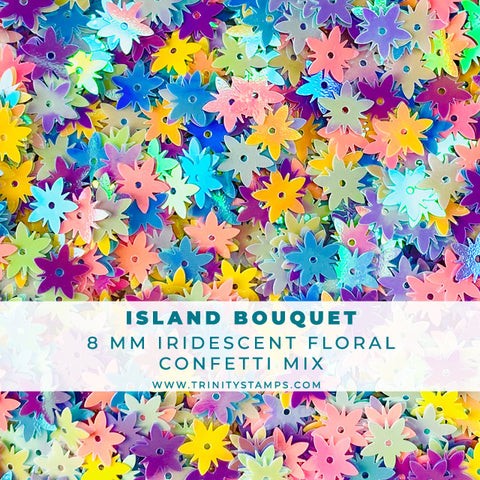 Island Bouquet Confetti Embellishment Mix