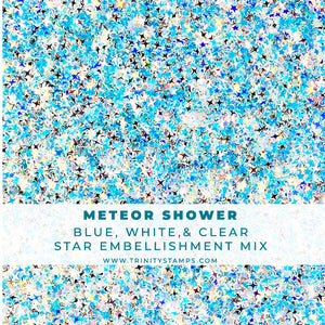 Meteor Shower - Mixed Star Embellishment Mix