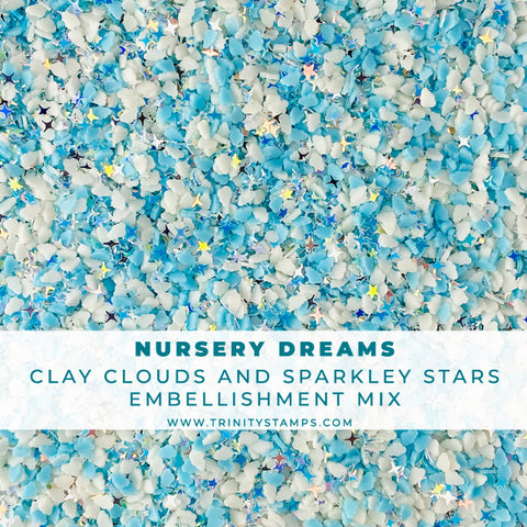 Nursery Dreams - Dreamy Shaker Embellishment Mix