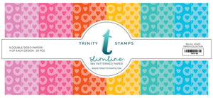 Trinity Stamps Slimline Paper Pad - All Heart