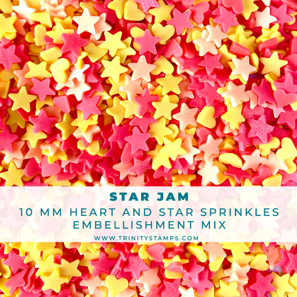 Star Jam - 10 mm Clay Sprinkles Embellishment Mix