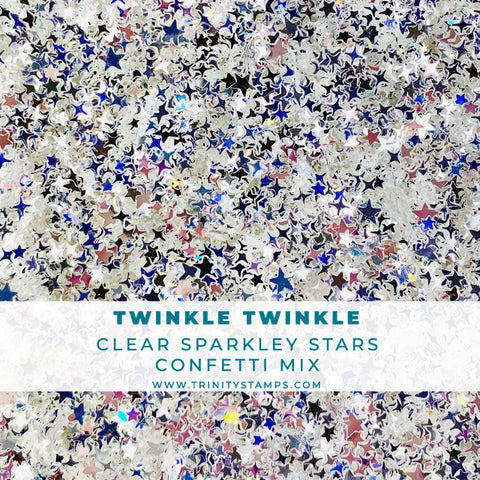 Twinkle Twinkle - Mixed Star Embellishment Mix