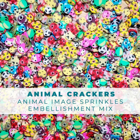 Animal Sprinkles Embellishments