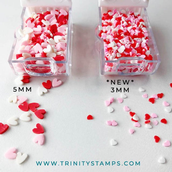 Little Sweethearts Tiny Heart Sprinkles Mix *New Size*