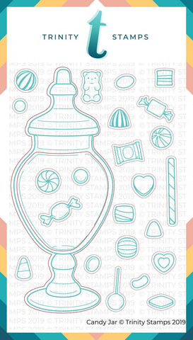 Candy Jar Coordinating Die Set
