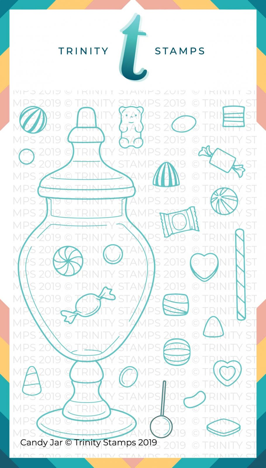 Candy Jar 4x6 Stamp Set
