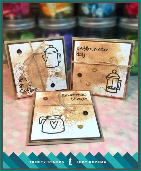 Coffee with Character 6x8 Stamp Set