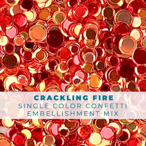 Crackling Fire Confetti Mix