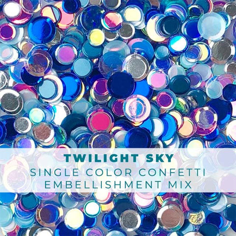 Twilight Sky Confetti Mix