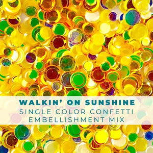 Walkin' on Sunshine Confetti Mix