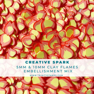 Creative Spark - Flame Embellishment Mix