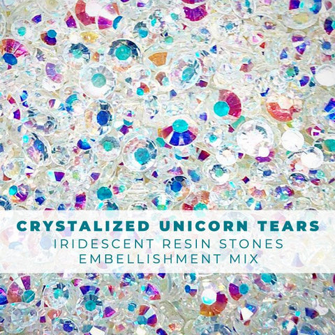 Crystalized Unicorn Tears Rhinestone Embellishment Mix