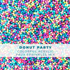 Donut Party sprinkles Mix