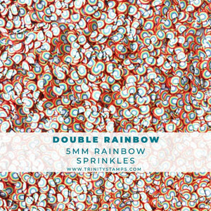 Double Rainbow - Rainbow Sprinkles Mix