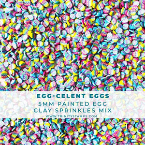 Egg-celent Eggs Decorative Egg Sprinkles Mix