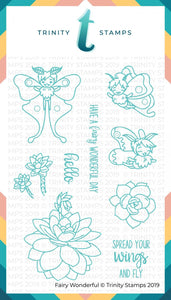 4x6 Fairy Wonderful Stamp Set