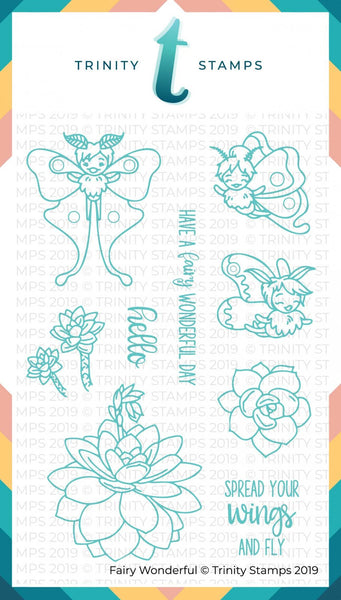 Fairy Wonderful 4x6 Stamp Set