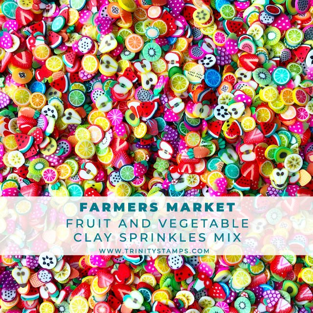 Farmers Market- Fruits and Veggies Sprinkle Mix