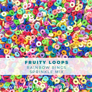 Fruity Loops: Colorful Clay Sprinkle-O's