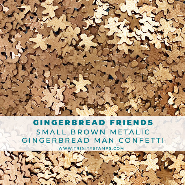 Gingerbread Friends - Metallic Confetti Mix