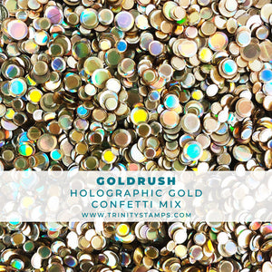 Goldrush - Holographic Gold Confetti Mix