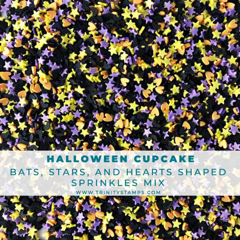 Halloween Cupcake Sprinkles Mix