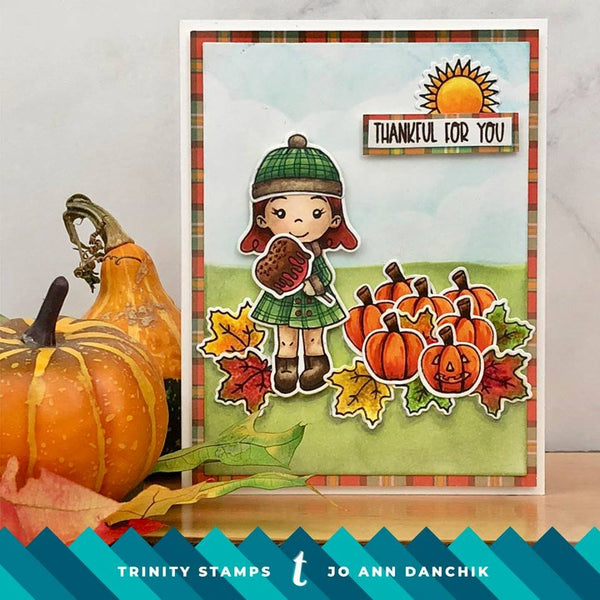 Seasonal Sweetheart 4x8 Stamp Set