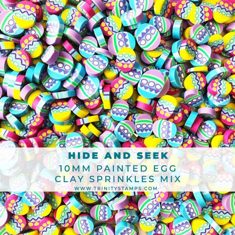 Hide and Seek Decorative Egg Sprinkles Mix