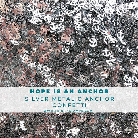 Hope is an Anchor Confetti Mix