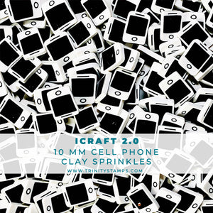 iCraft 2.0 - Clay Cell Phone Sprinkles Mix