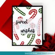 Sweet Holiday Wishes Die Set