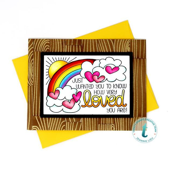 So Very Loved 3x4 Stamp Set