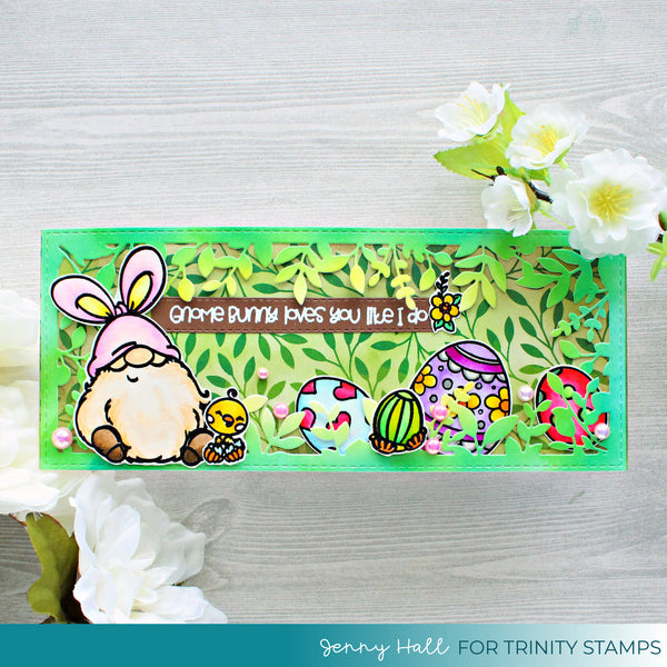 Gnome Bunny 4x6 Stamp Set