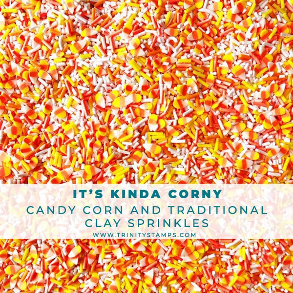 It's Kinda Corny - Candy Corn Sprinkles Mix