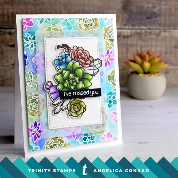 Let Love Grow 4x6 Stamp Set