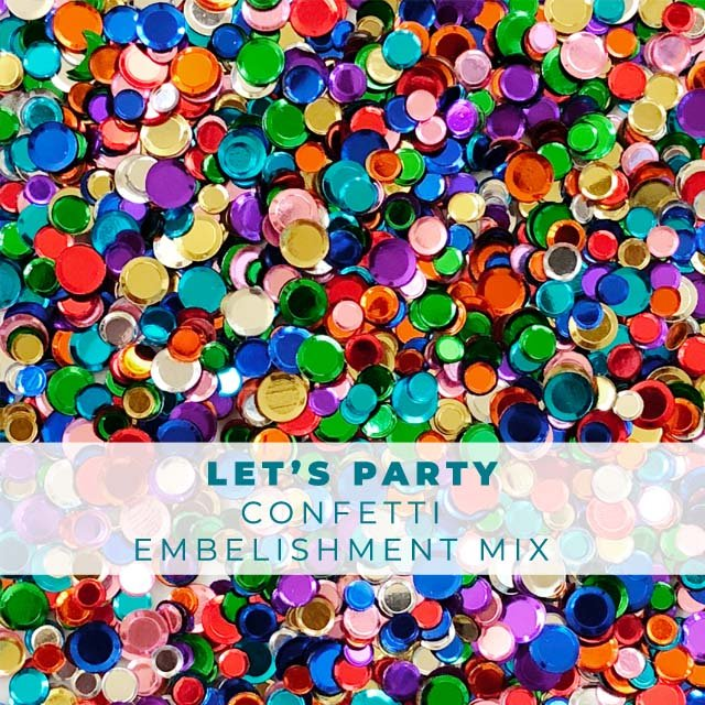 Let's Party Confetti Mix