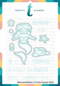 Mermaid Wishes Coordinating Die Set