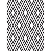Nested Diamond Background Embossing Folder