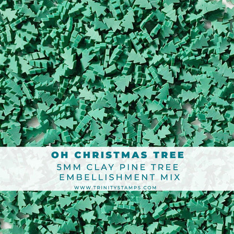 Oh Christmas Tree - Clay Tree Embellishment Mix