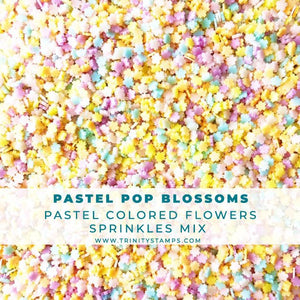 Pastel Pop Blossoms Sprinkles Mix