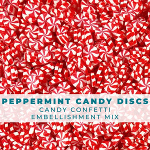Peppermint Candy Confetti Sprinkles