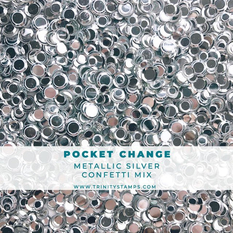 Pocket Change Metallic Confetti Mix
