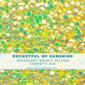 Pocketful of Sunshine Iridescent Confetti Mix